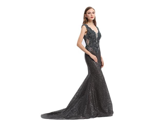 Beautiful Sleeveless Elegant European Style Evening Dresses For Banquet