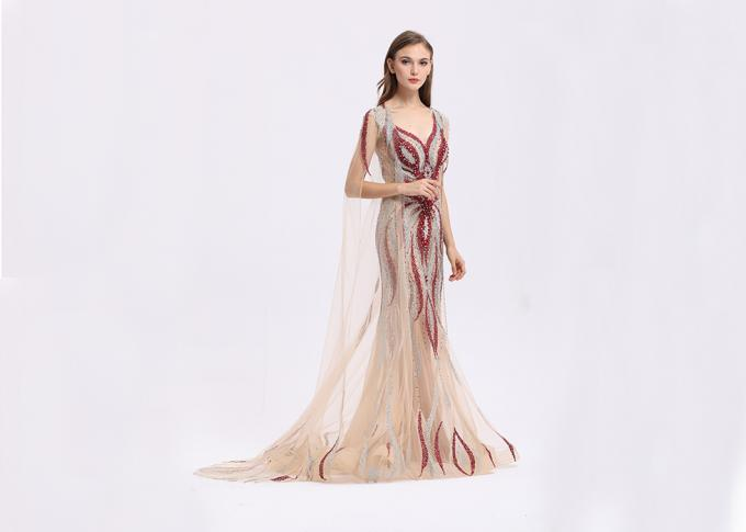 Fashion Ladies Long Wedding Dresses Gown 62 Inch For Formal Evening Party
