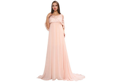 China Plus Size Special Occasion Middle Eastern Evening Dresses With Exquisite Lace Material supplier