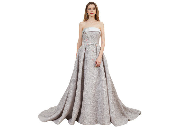 a70a64c91aa Ladies Off - Shoulder Vintage Evening Dresses Embroidered Lace For Wedding  Bridesmaid