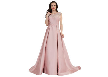 China Customize Women Vintage Style Prom Dresses , Chiffon Vintage Long Evening Dresses factory